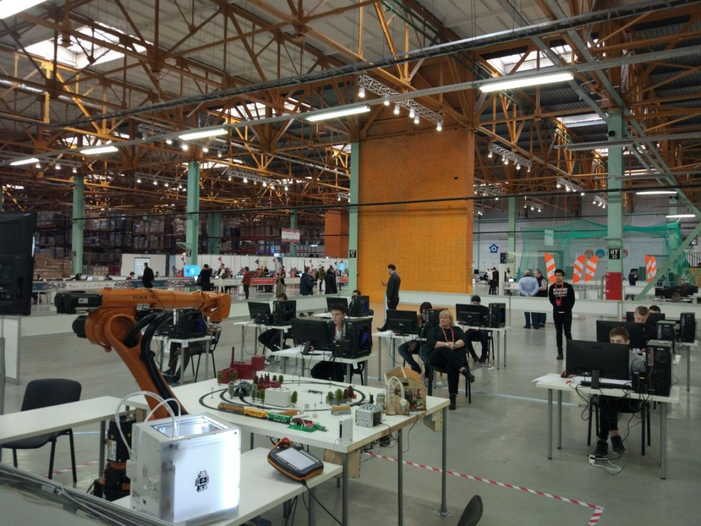 Ultimaker 2 WorldSkills