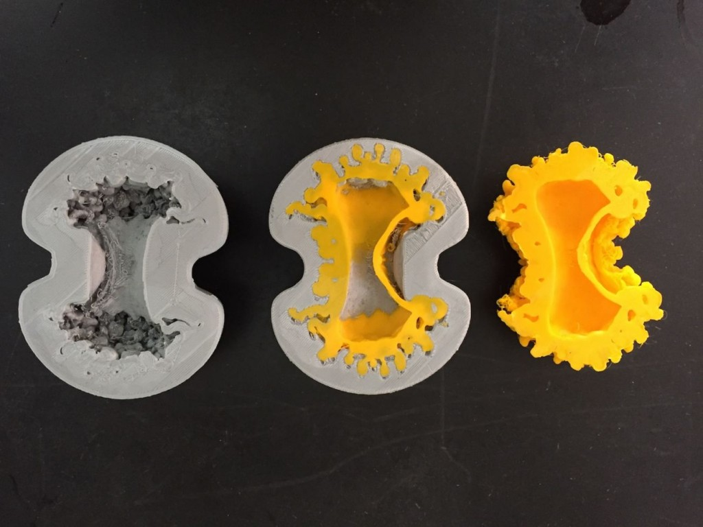 3D printed models of Supernova V745